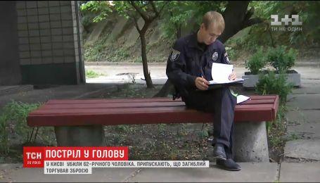 На столичной Русановке в подъезде многоэтажки застрелили 62-летнего мужчину