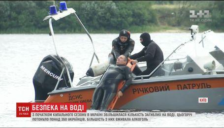 Рятувальники закликають українців не купатися напідпитку