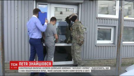 """Киберполиции проводит обыски в офисах киевской компании, которую подозревают в распространении вируса """"Petya"""""""