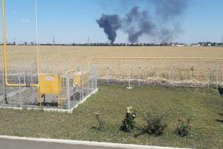 Под Одессой на нефтебазе прогремел взрыв, пострадал человек
