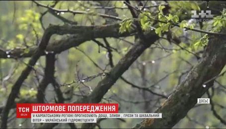 Синоптики оголосили штормове попередження на Заході України