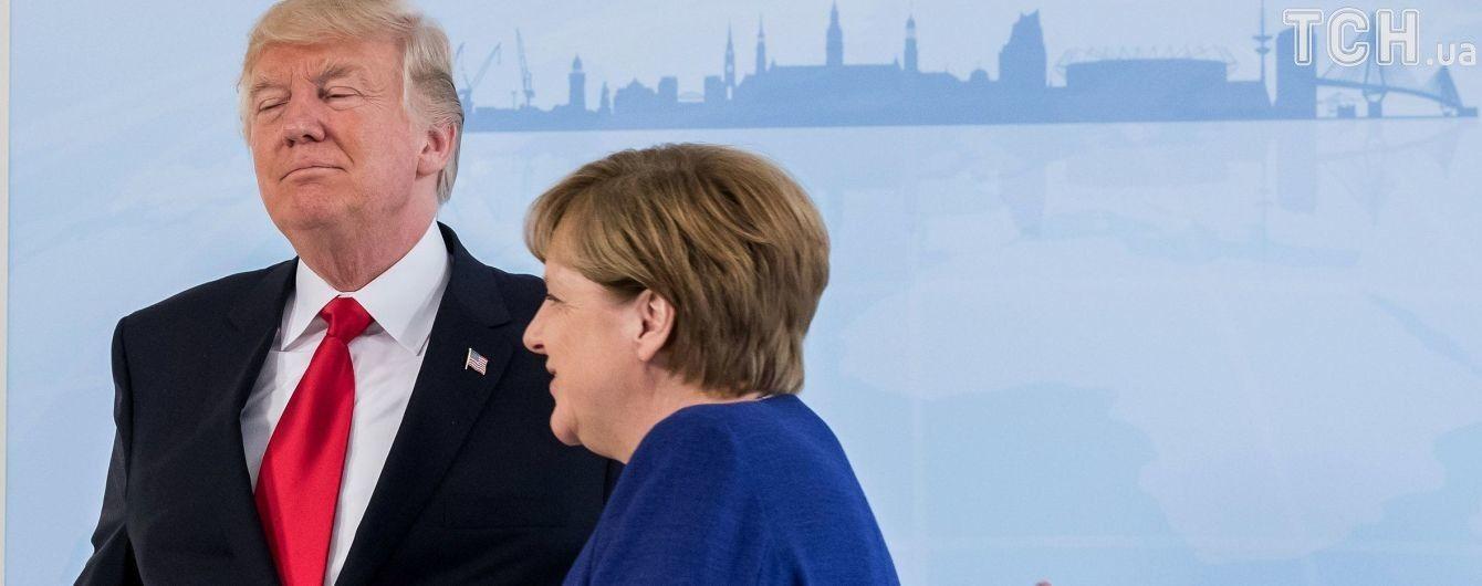 Меркель не збирається бути посередником між Трампом і Путіним на G20