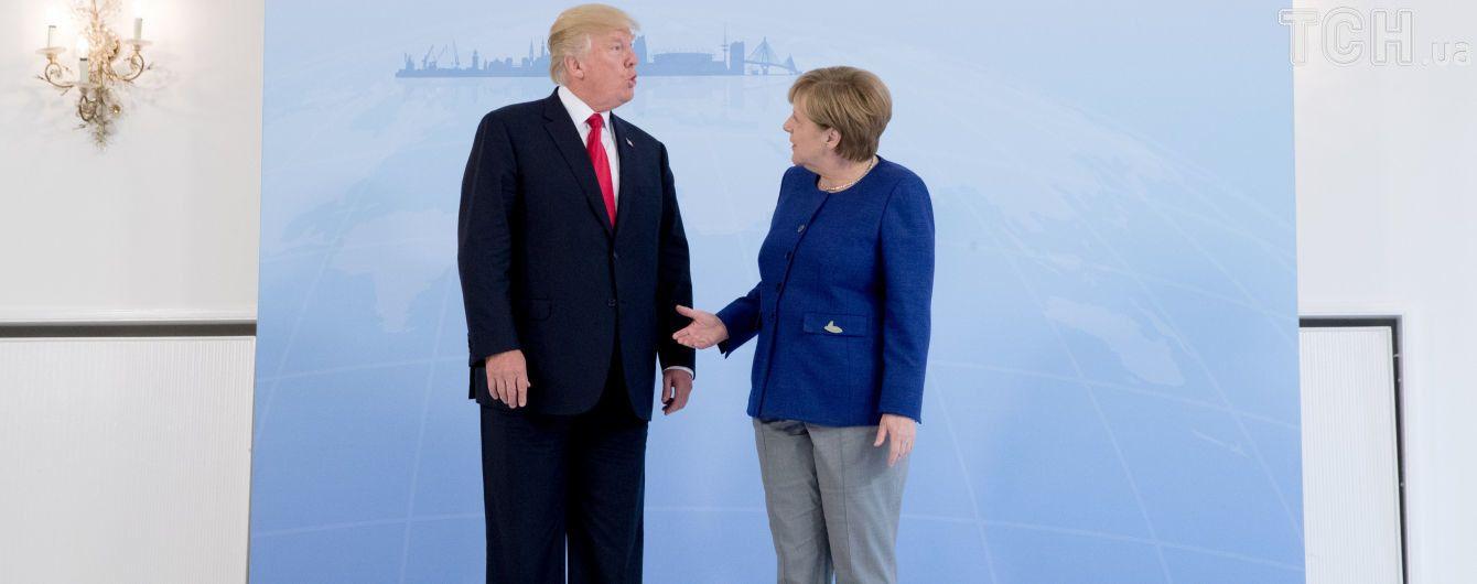 Координаційна зустріч: у Трампа прокоментували спілкування із Меркель