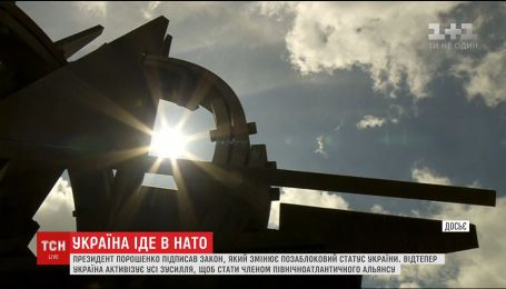 Порошенко подписал закон, приоритетным направлением которого является вступление Украины в НАТО