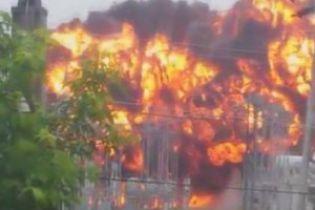 В российском городе мощный взрыв на электростанции оставил без света 150 тысяч жителей