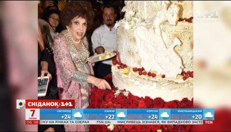 Джина Лоллобриджида отпраздновала 90-летие в Риме