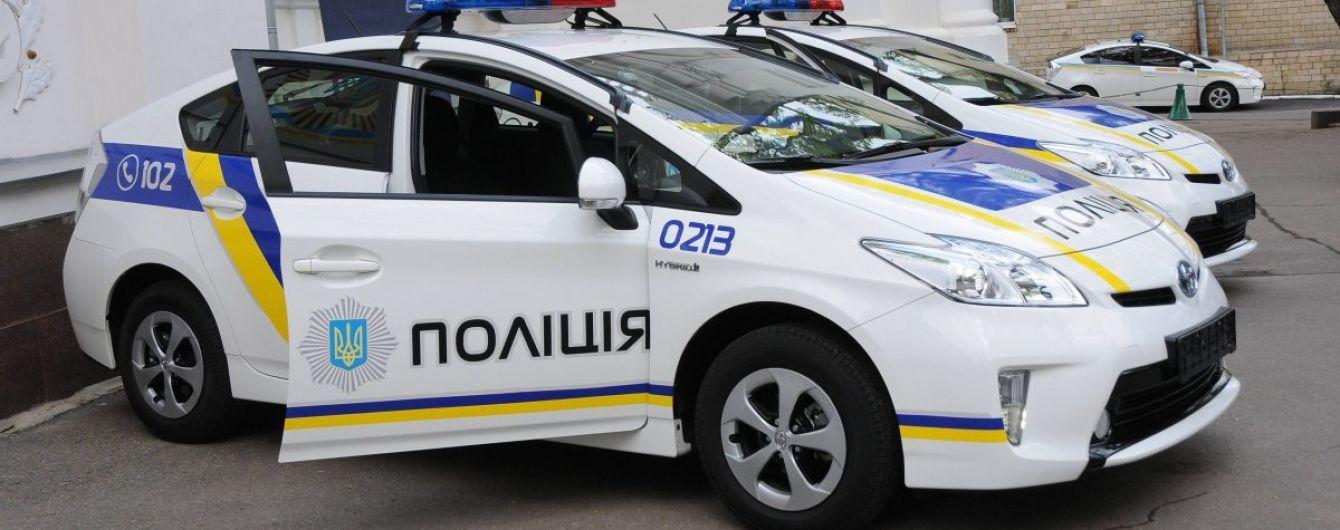 В Кропивницком грузовик протаранил патрульное авто, пострадали полицейские