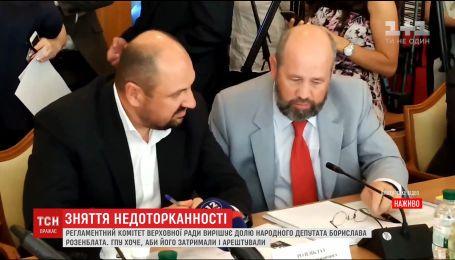 Луценко предоставил видеодоказательство причастности к янтарному делу Борислава Розенблатта