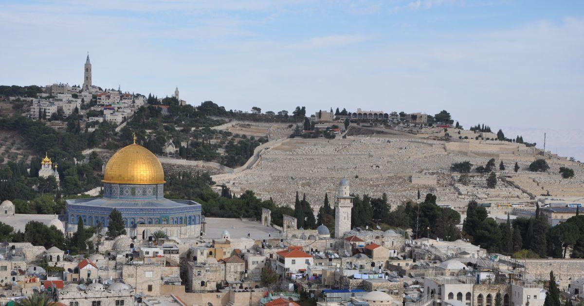 У християн східного обряду Страсна п'ятниця: у Єрусалимі віряни пройшли дорогою, якою вели Ісуса на розіп'яття