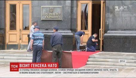Киев готовится к визиту Генсека НАТО