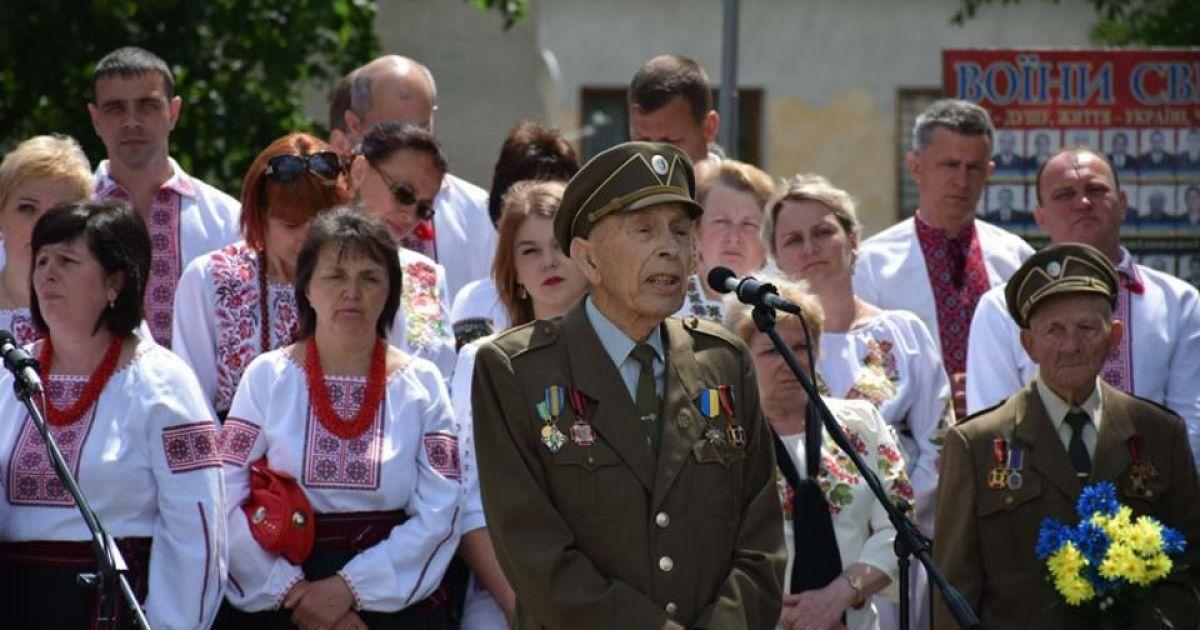На Львівщині під час промови на честь Шухевича помер очільник районного братства ОУН-УПА