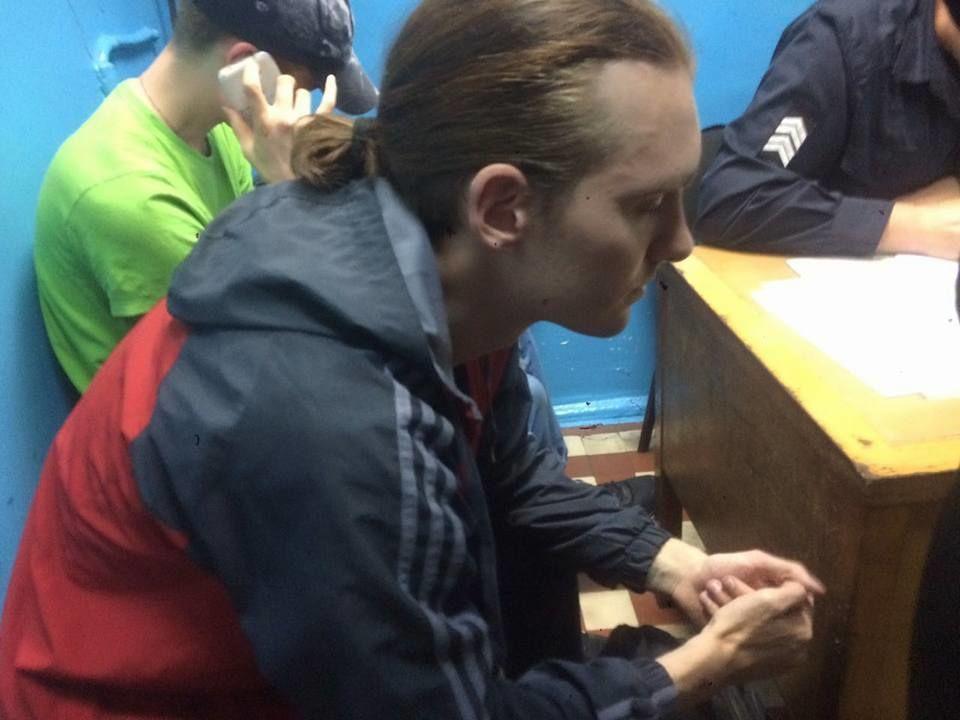 Напад на учасників лекції про трансгендер у Києві _2
