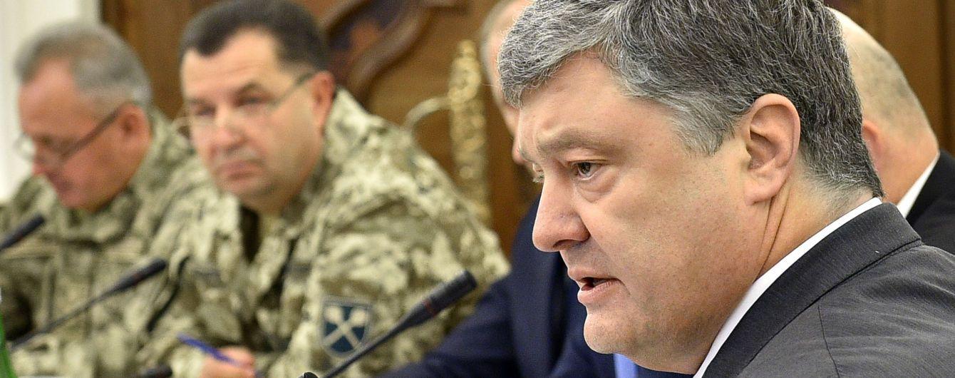 Порошенко ввів в дію таємне рішення РНБО про військово-технічне співробітництво з окремими державами