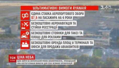 """Ирландский лоу-костер """"Ryanair"""" не подписал соглашение с украинским аэропортом """"Борисполь"""""""