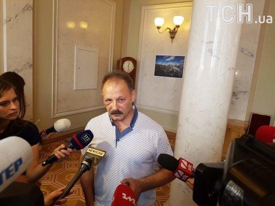 Матюкливий депутат Барна пояснив свою поведінку членам регламентного комітету ВР