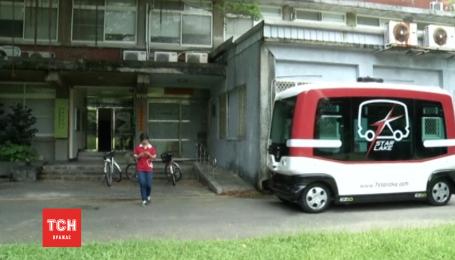 У Тайвані перший автоматичний безпілотний автобус відправився в шлях з пробним проїздом