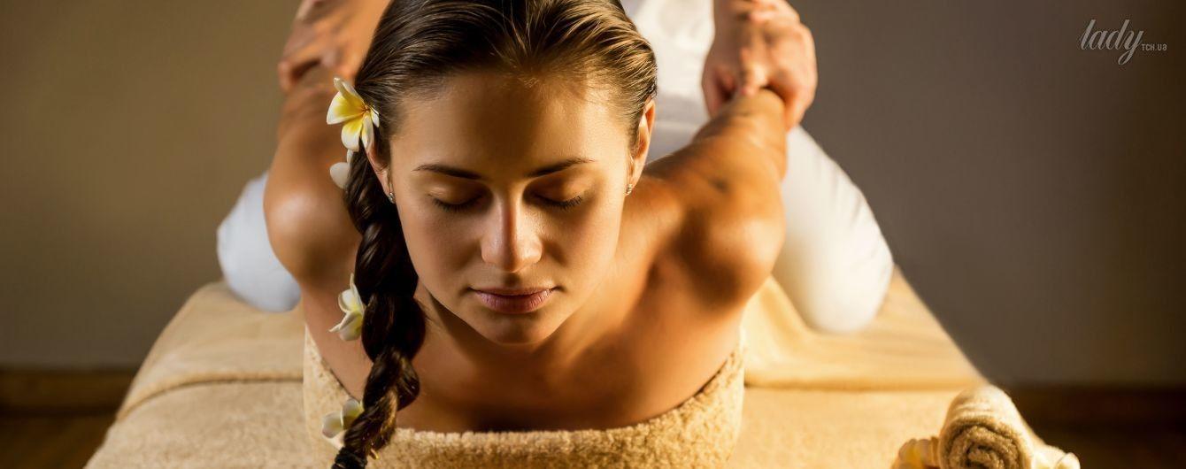 Женский массаж девочка секс