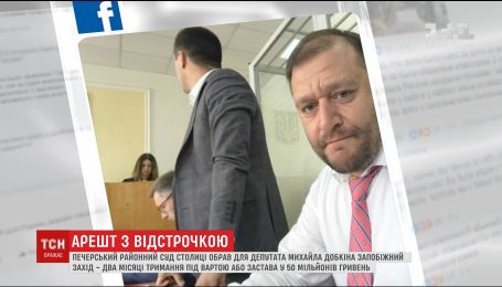Печерский райсуд избрал меру пресечения Михаилу Добкину