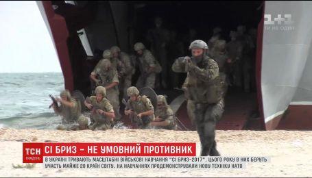 Військові США вперше доставили на навчання в Україні конвертоплан