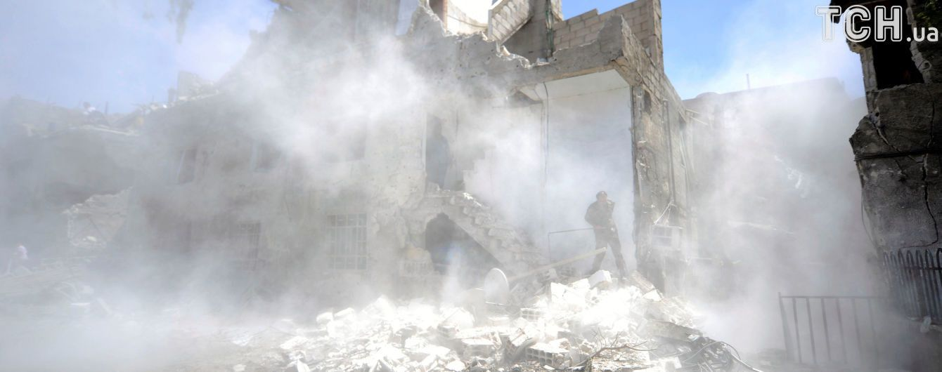 В Дамаске в российском посольстве разорвался снаряд