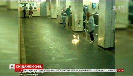 У мінській підземці загорілася електронна сигарета