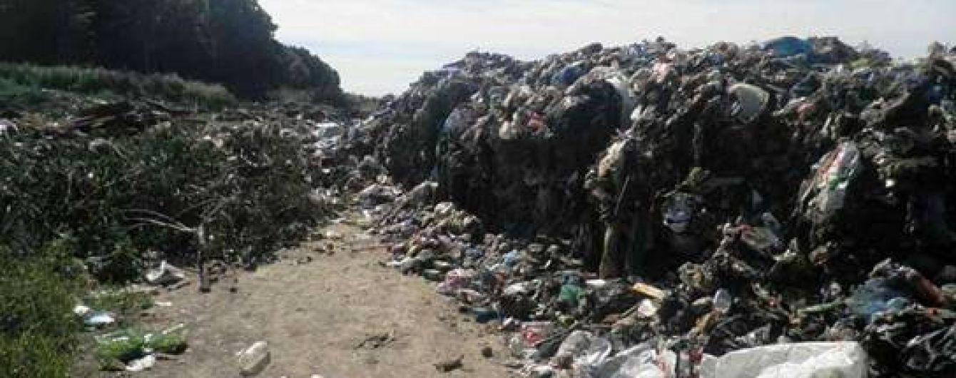 На Київщині виявили 40 тонн львівського сміття