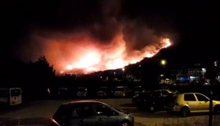 Хорватия и Черногория страдают от лесных пожаров