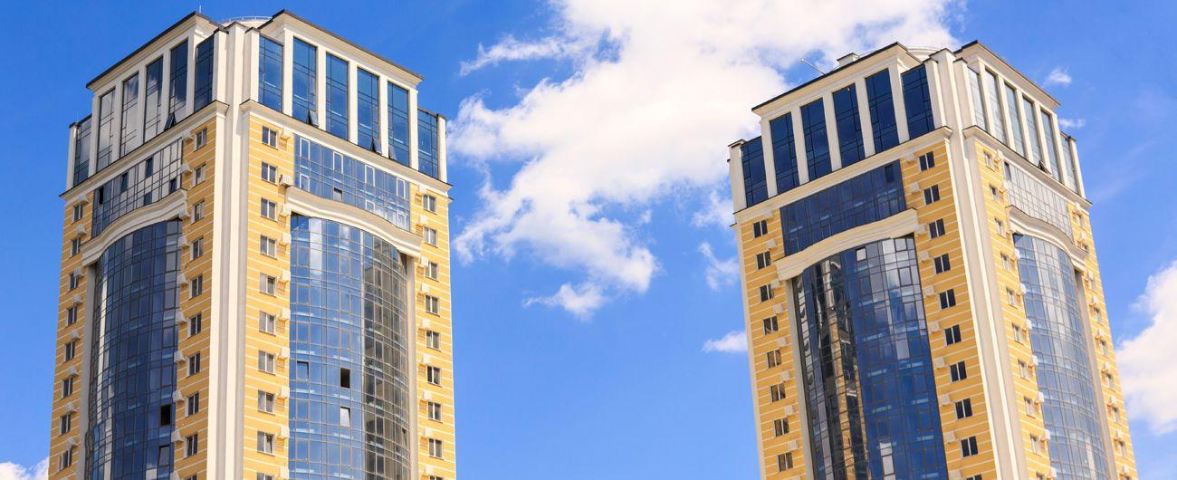 Багатоповерхівка, будинок, квартира, панорама