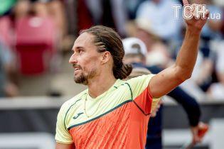 Украинский теннисист Долгополов одержал третью победу на турнире в Цинциннати