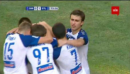 Чорноморець - Сталь - 0:1. Відео голу Кузика