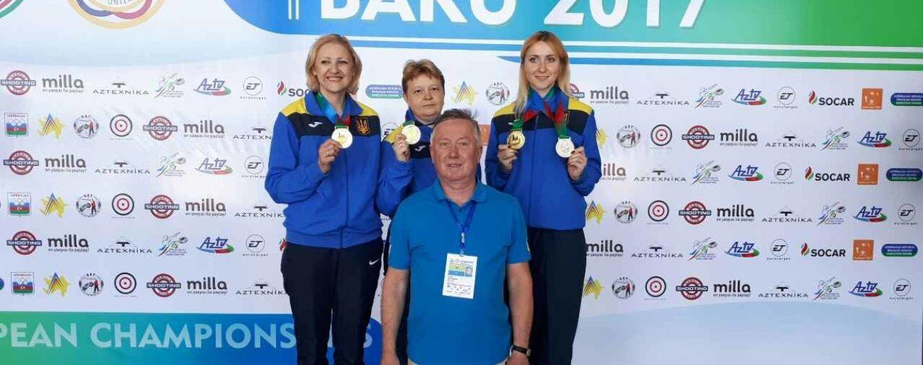 Українці завоювали 4 нагороди на старті чемпіонату Європи зі стрільби
