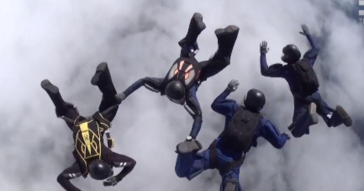 Українська військова збірна парашутистів вперше за 14 років виступила на чемпіонаті світу