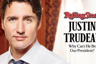"""""""Почему он не наш президент?"""" Трюдо появился на обложке американского Rolling Stone"""