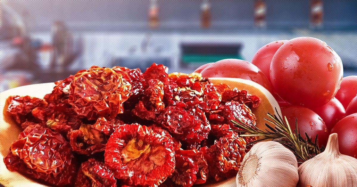 Как сделать вяленые томаты