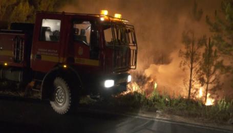 Нові лісові пожежі охопили центр Португалії