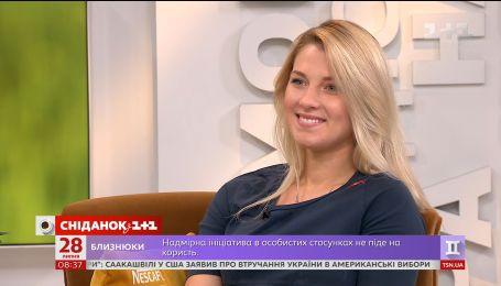 У гостях Сніданку найтитулованіша шаблістка світу Ольга Харлан