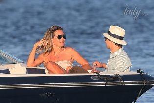 На яхте с бойфрендом: Хайди Клум отдыхает в Сен-Тропе