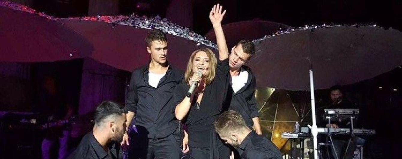 Могилевська ризикувала життям під час концерту в Одесі