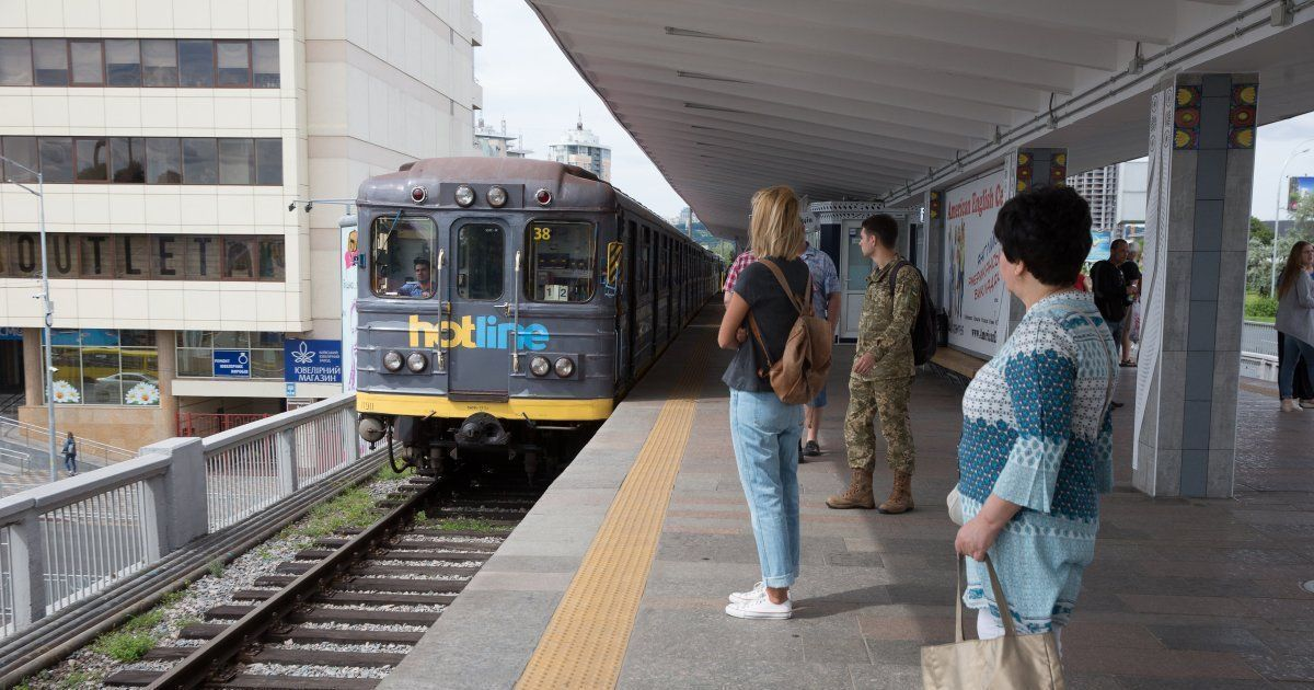 Киевский метрополитен нашпигуют видеокамерами с фунцией распознавания лиц