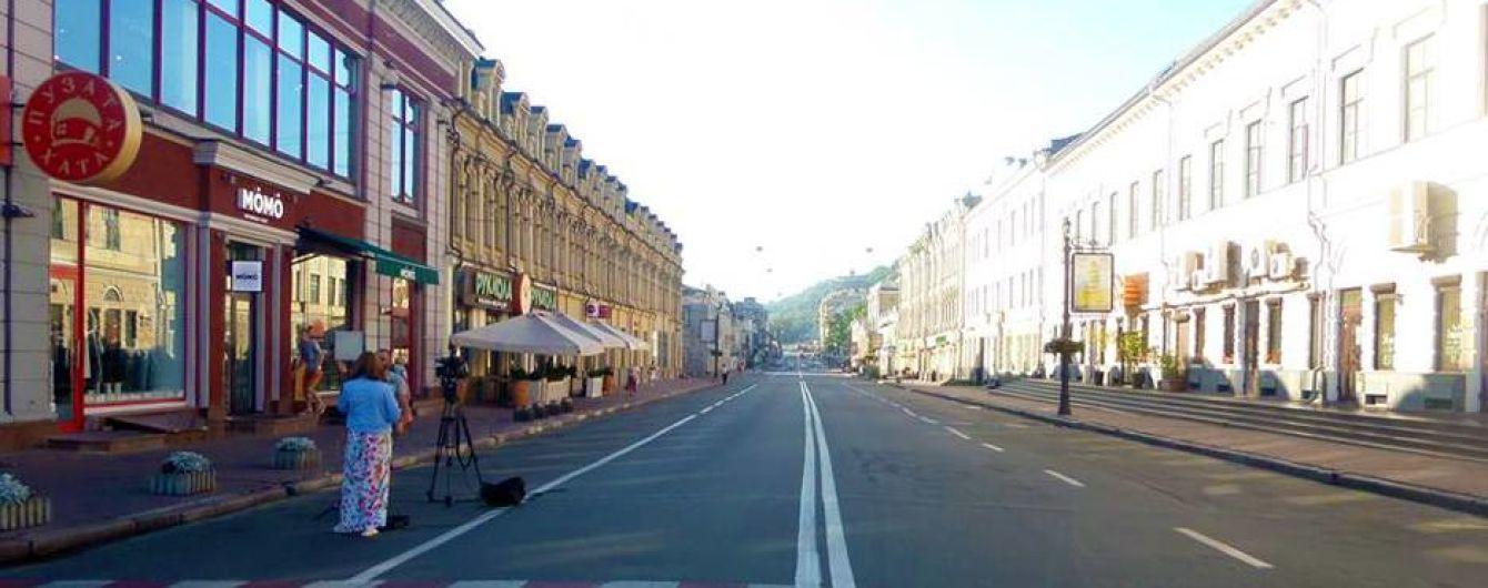 В КМДА відреагували на скасування пішохідної зони на Подолі