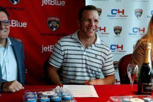 Cooper Hunter став офіційним партнером хокейної команди НХЛ Florida Panthers c05054fd2c245