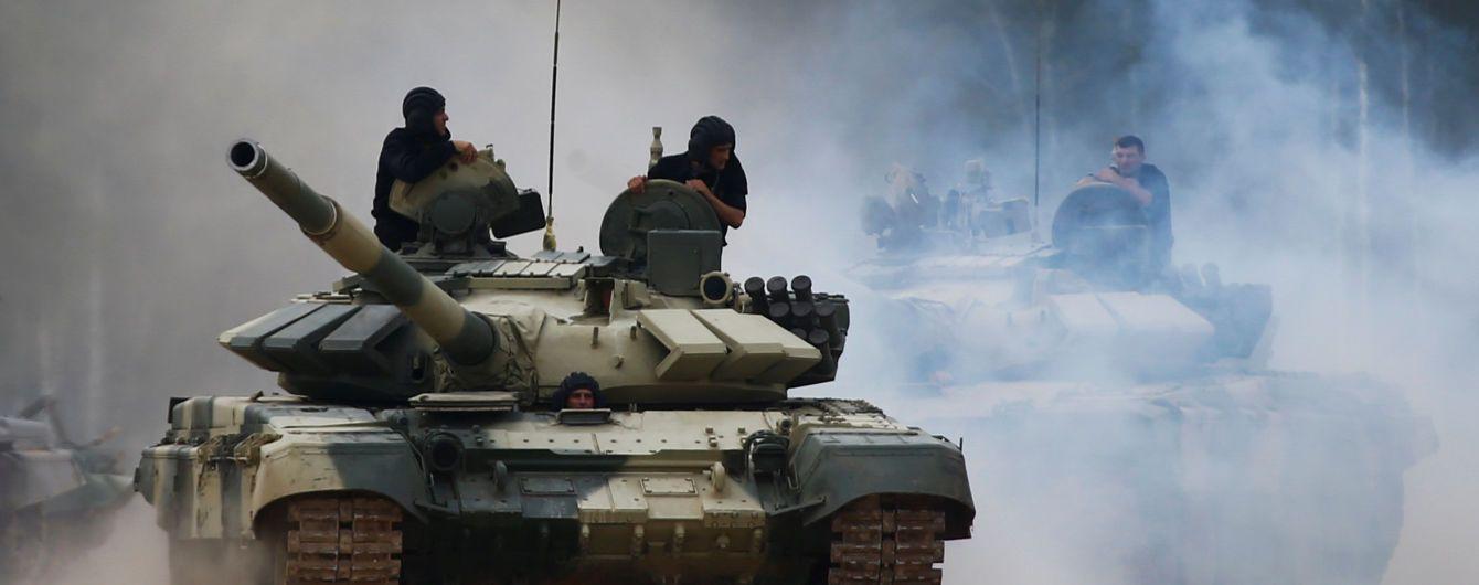 РФ готовится к континентальной войне и стягивает к границе с Украиной тысячи военных и танки - Турчинов