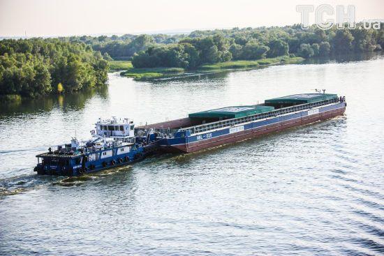 В Україні істотно зросли перевезення по Дніпру