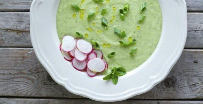 Суп з огірків, для блогів