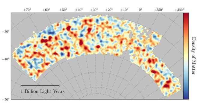 Карта темної матерії