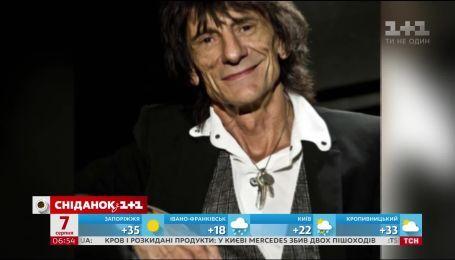 Рок-гитарист Rolling Stones Рони Вуд признался, что перенес рак легких
