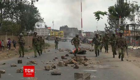 В Кении полиция открыла огонь по митингующим, которые не согласны с результатами выборов
