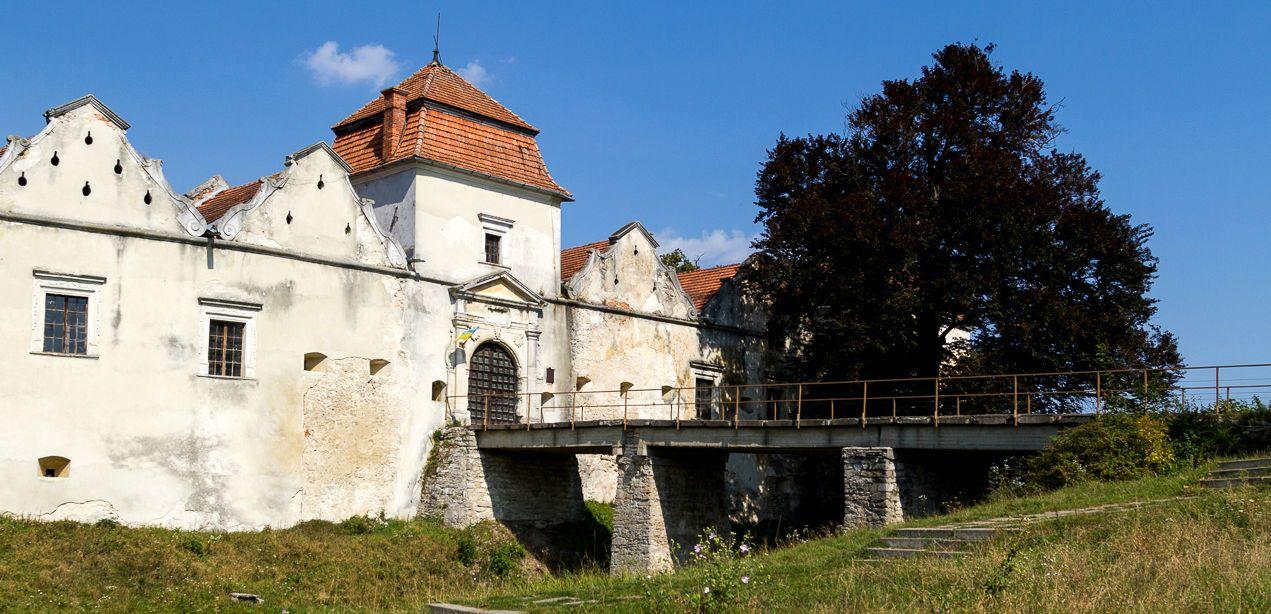 Свірж, Свірзький замок