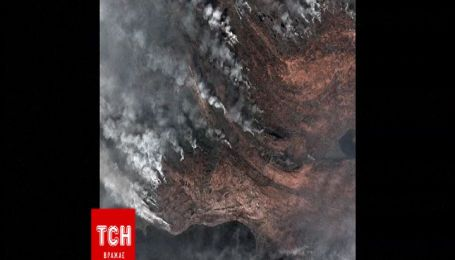 Гренландия страдает от масштабного пожара