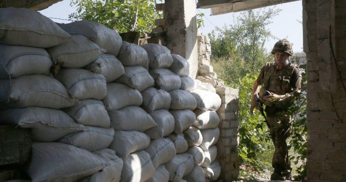 Обстрел домов в Марьинке и отсутствие потерь. Сутки в зоне АТО